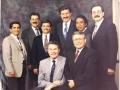 1993 en Portland, USA De izquiera a derecha M. Vazquez - R. Loguzzo - A. Bongiorno - R. Proietti - B. Orozco - C. Barbieri. Abajo Luis Palau - J. Miron